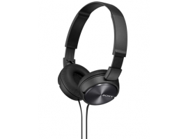 MDR-ZX310/B-Headphones-Sound Monitoring Headphones