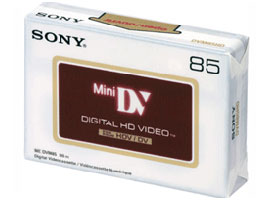 DVM85HD-Video Media-DV Tape