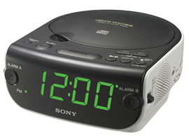 ICF-CD814-Radio-Clock Radio