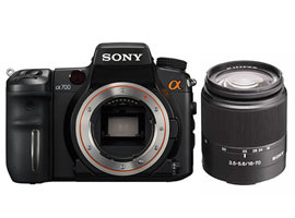 DSLR-A700K-Interchangeable Lens Camera-DSLR-A700