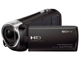 HDR-CX240E/B-Handycam® Camcorder-Flash / Memory Stick