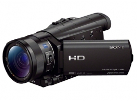 HDR-CX900E/B-Handycam® Camcorder-Flash / Memory Stick
