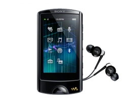 NWZ-A866/B-Walkman® Digital Media Players-A Series