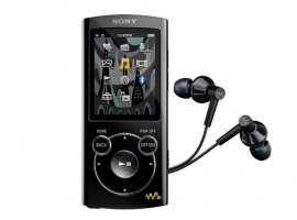 NWZ-S765/B-Walkman® Digital Media Players-S Series