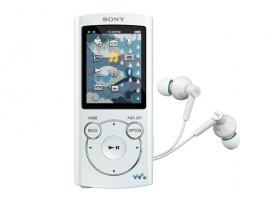 NWZ-S764/W-Walkman® Digital Media Players-S Series