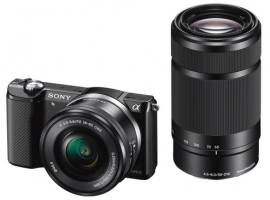 ILCE-5000Y/B-Interchangeable Lens Camera-ILCE-5000