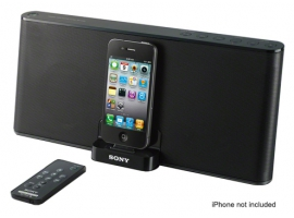 RDP-X30iP-Audio Docks-iPod/iPhone Docks