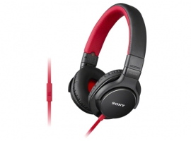 MDR-ZX750AP/R-Headphones-Sound Monitoring Headphones