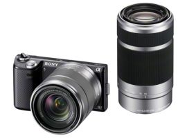 NEX-5NY/B-Interchangeable Lens Camera-NEX-5N