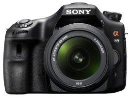 SLT-A65VK-Interchangeable Lens Camera-SLT-A65V