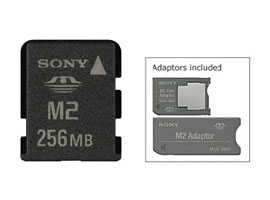 MS-A256W-Memory Stick/SD Memory Card-Memory Stick Micro™ (Mark2)