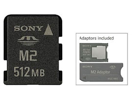 MS-A512W-Memory Stick/SD Memory Card-Memory Stick Micro™ (Mark2)