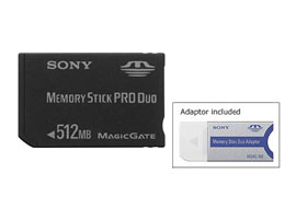 MSX-M512S-Memory Stick/SD Memory Card-Memory Stick PRO Duo™