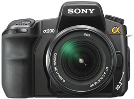DSLR-A200K-Interchangeable Lens Camera-DSLR-A200