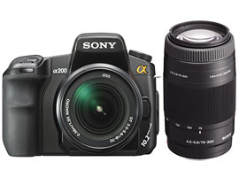 DSLR-A200W-Interchangeable Lens Camera-DSLR-A200