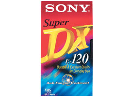 E-120DXF1-Video Media-VHS Tape