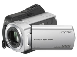 DCR-SR45-Handycam® Video Camera-Hard Disk Drive (HDD)