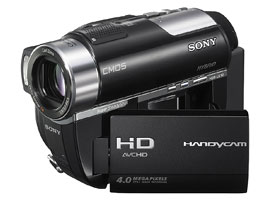 HDR-UX10E-Handycam® Camcorder-DVD
