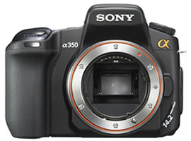 DSLR-A350-Interchangeable Lens Camera-DSLR-A350