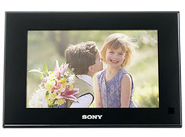 DPF-V700/B-S-Frame Digital Photo Frame-Standard