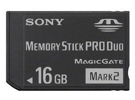 MS-MT16G-Memory Stick/SD Memory Card-Memory Stick PRO Duo™