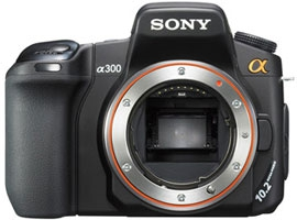DSLR-A300-Interchangeable Lens Camera-DSLR-A300