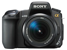 DSLR-A300K-Interchangeable Lens Camera-DSLR-A300