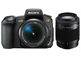 DSLR-A300X-Interchangeable Lens Camera-DSLR-A300