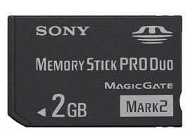 MS-MT2G-Memory Stick/SD Memory Card-Memory Stick PRO Duo™