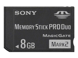 MS-MT8G-Memory Stick/SD Memory Card-Memory Stick PRO Duo™
