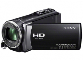 HDR-CX210/B-Handycam® Camcorder-Flash / Memory Stick