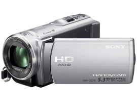 HDR-CX210E/S-Handycam® Camcorder-Flash / Memory Stick