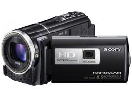 HDR-PJ260VE-Handycam® Camcorder-Flash / Memory Stick