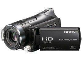 HDR-CX12-Handycam® Camcorder-Flash / Memory Stick
