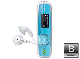 NWZ-B135F/L-Walkman® Digital Media Players-B Series