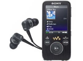 NWZ-S736F/B-Walkman® Digital Media Players-S Series