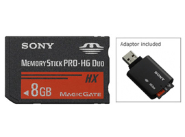 MS-HX8G-Memory Stick/SD Cards-Memory Stick PRO-HG Duo™
