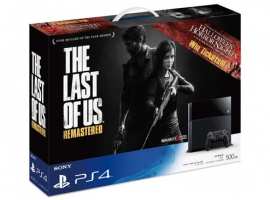 The Last of Us Remastered Bundle Pack-PlayStation®4-Console
