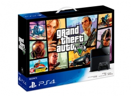 PS4 GTA5 Bundle Pack-PlayStation®4-Console
