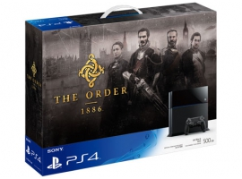 PS4 The Order 1886 Bundle Pack-PlayStation®4-Console