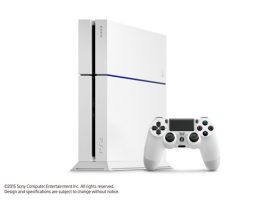 PS4™ 500GB Standalone White Console Without Camera-PlayStation®4-Console