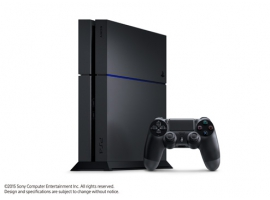PS4™ 500GB Standalone Black Console Without Camera-PlayStation®4-Console