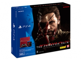 PS4 METAL GEAR SOLID V: THE PHANTOM PAIN Edition Bundle Pack-PlayStation®4-Console