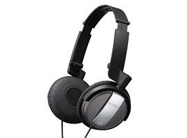 MDR-NC7/B-Headphones-Noise Cancelling Headphones