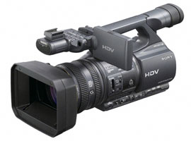 HDR-FX1000E-Handycam® Camcorder-SemiPro
