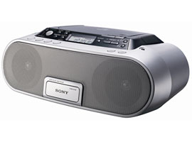 ZS-PS20CP-CD / Radio / Cassette Player-CD Radio Player