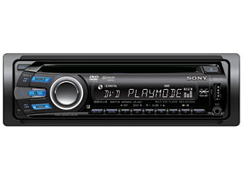 MEX-DV1500U-Xplod™ In Car Visual-DVD / VCD Player