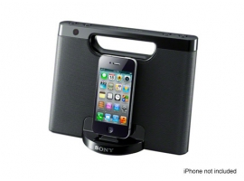 RDP-M7iP/B-Audio Docks-iPod/iPhone Docks