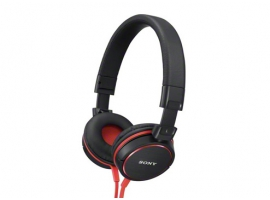 MDR-ZX600/R-Headphones-Sound Monitoring Headphones