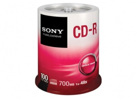 100CDQ80S1-Data Storage Media-CDR